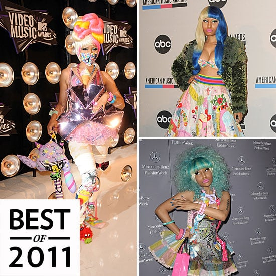 Nicki Minaj Outrageous Style in 2011