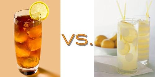 Lemonade vs. Iced Tea