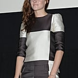 As part of the promotion of Breaking Dawn — Part 2 Kristen Stewart attended an event in Japan.