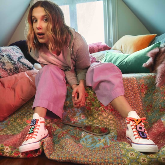 Millie Bobby Brown Dropped a Second Converse Collection