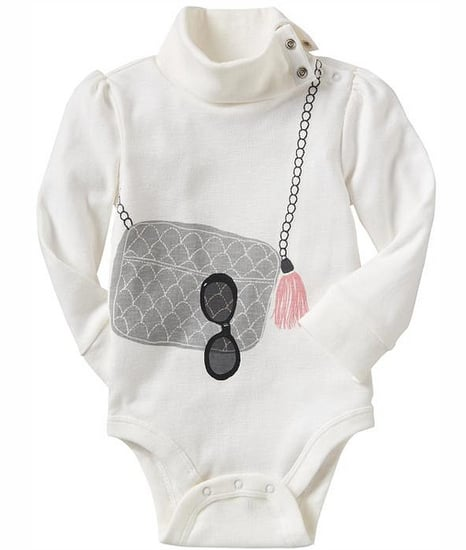 Chanel Bag Print Baby Onesie Top at Gap