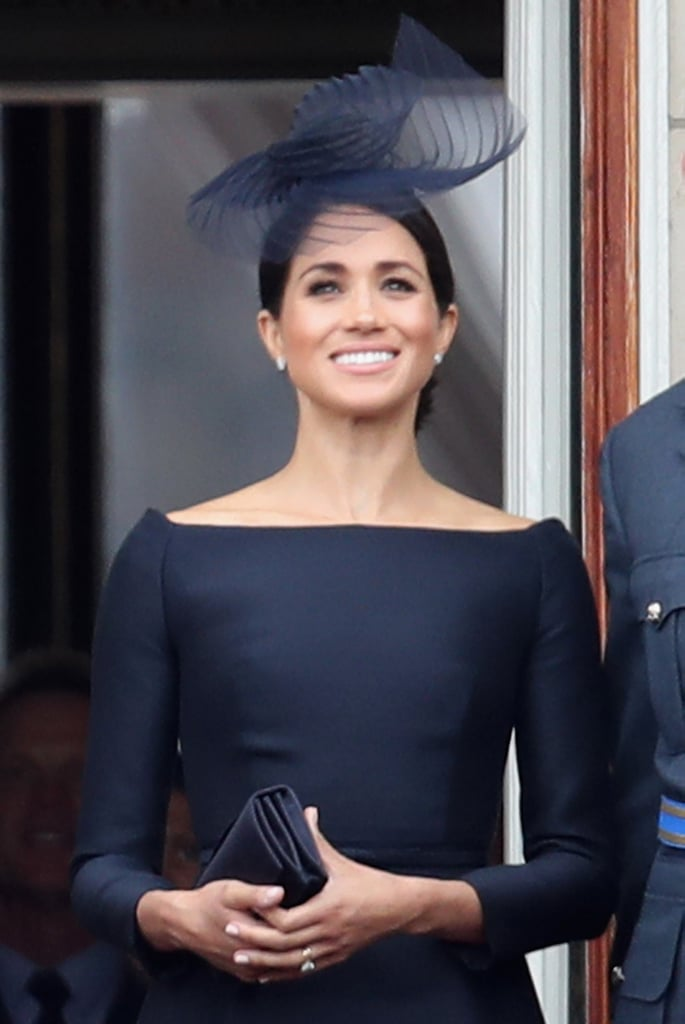 William, Harry, Kate and Meghan at RAF Celebration in London