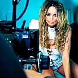 """Ricki-Lee Coulter previewed one of the looks in her new music video for """"Crazy."""" Source: Instagram user therickilee"""