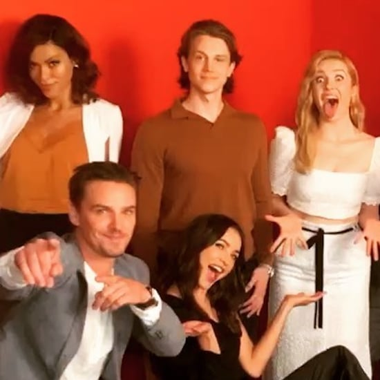 Cute Pictures of the Nancy Drew Cast Hanging Out Together