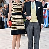 Prince Jean of Luxembourg and Countess Diane of Nassau attended the royal nuptials.