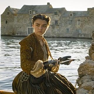 Maisie Williams Last Scene as Arya in Game of Thrones