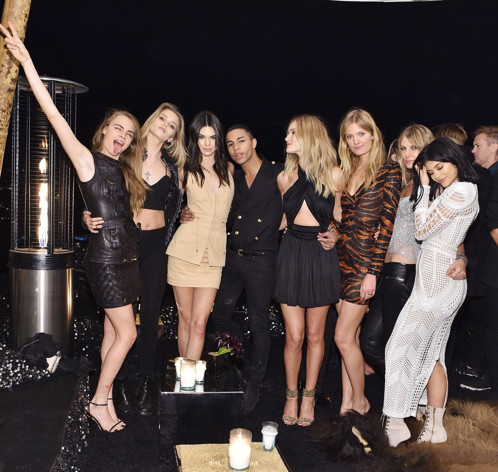 Celebrities Wearing Balmain