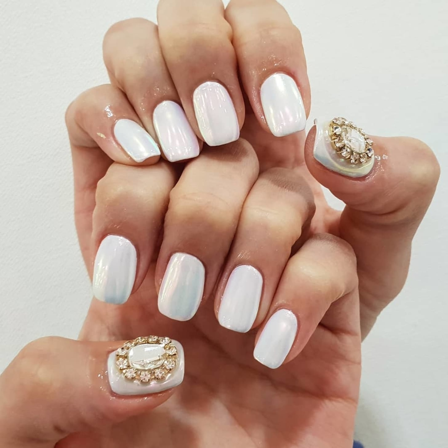 K Beauty Nail Art Trend | Iridescent Nails | POPSUGAR Beauty UK