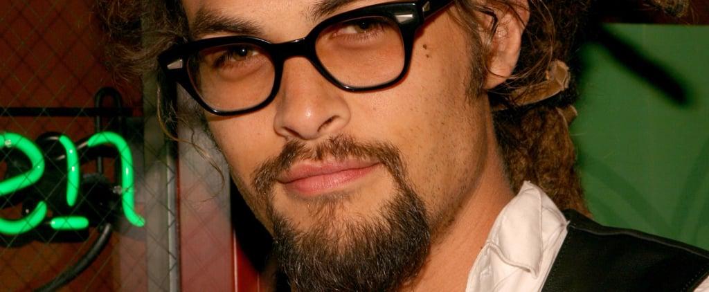 Jason Momoa Wearing Glasses