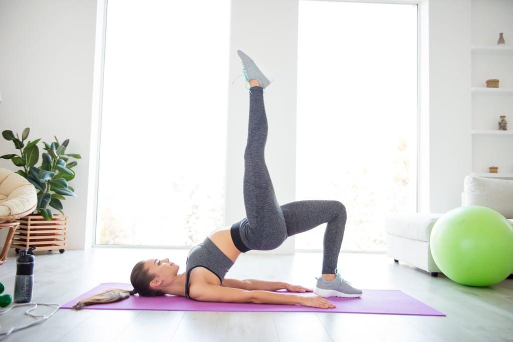 تمارين رياضية فعالة يمكن ممارستها من المنزل دون أي معدات