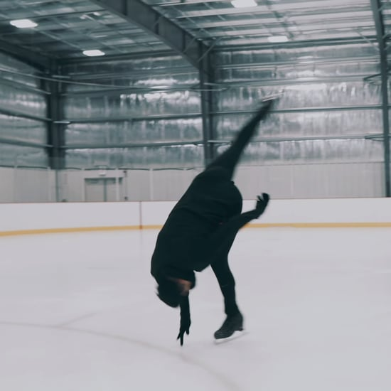 "Cordero Zuckerman's ""Bury a Friend"" Ice Skating Choreography"