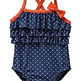 For Baby Girls: Baby Gap Ruffle Dot One-Piece