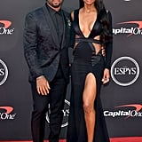 Russell Wilson and Ciara at the ESPYs