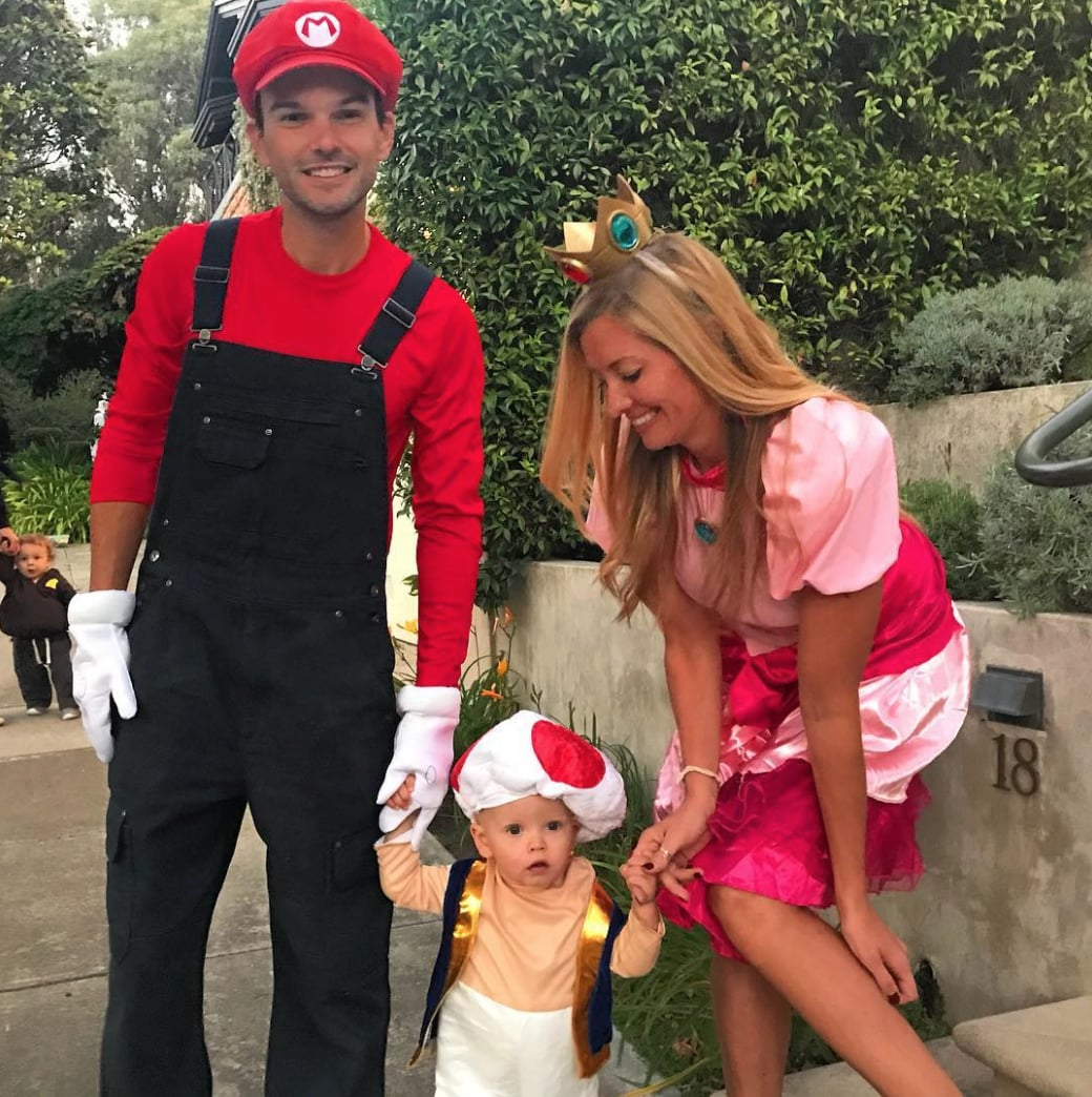 Mario Princess Peach And Toad Calling All Families Of 3 We Have The 50 Halloween Costume Ideas You Ll Want To Steal Popsugar Family Photo 37
