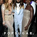 Jennifer Lopez, Jared Leto, and Lupita Nyong'o