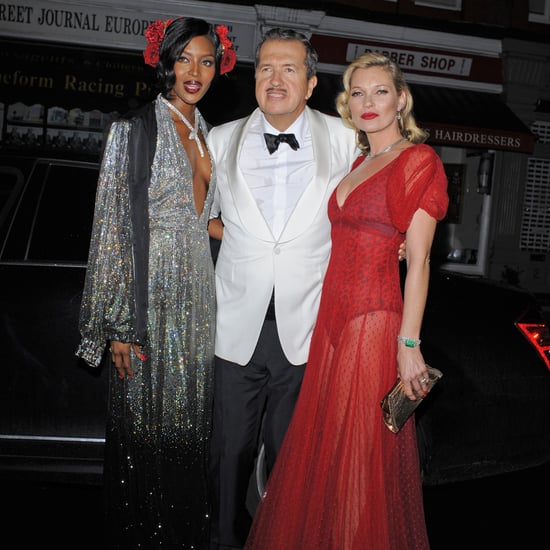 Kate Moss at Mario Testino's 60th Birthday Party | Pictures