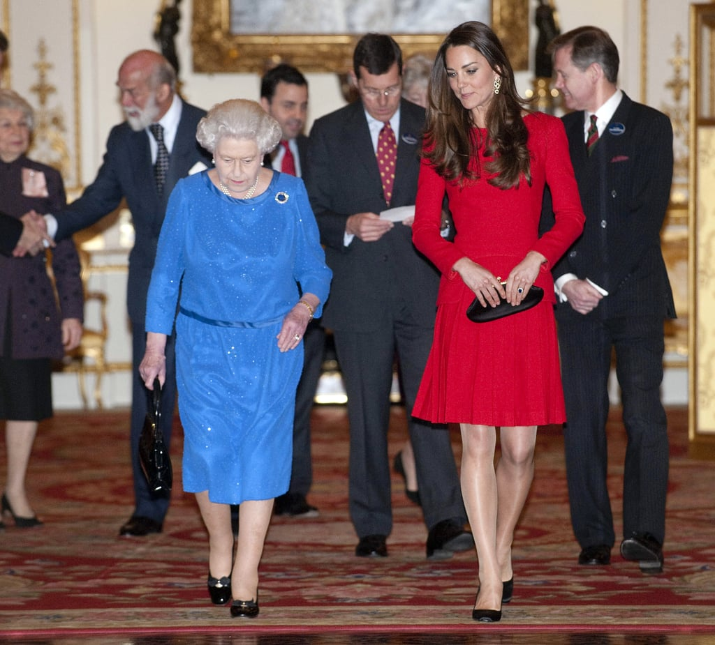 Queen Elizabeth II Honors Kate Middleton With a New Piece of Jewelry