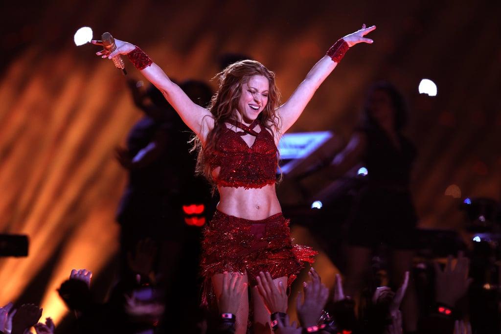 Shakira Workouts on Instagram