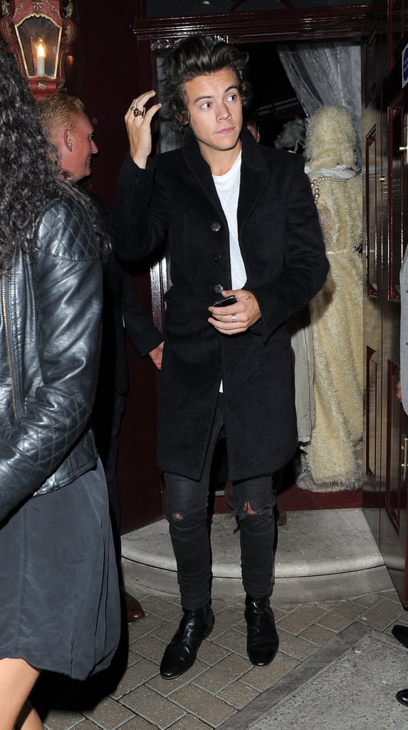 Harry Styles joined in on the fun for the AnOther magazine party in London.
