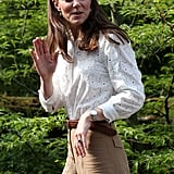 Kate Middleton at Chelsea Flower Show in London May 2019