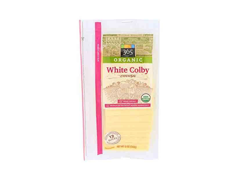 365 Everyday Value Organic Colby Slices