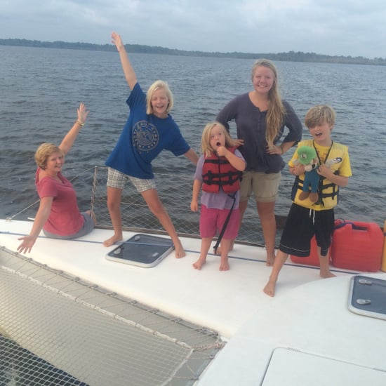 Family Who Lived on a Boat For the Year