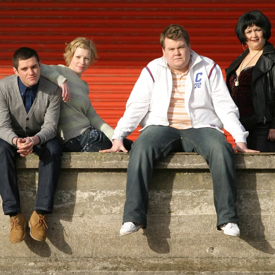 James Corden Filming Gavin and Stacey Christmas Episode