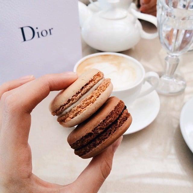 Fashion Bloggers' Desserts in Instagram Photos