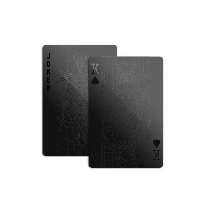 Monochromatic Deck of Cards | Cheap Christmas Gifts For