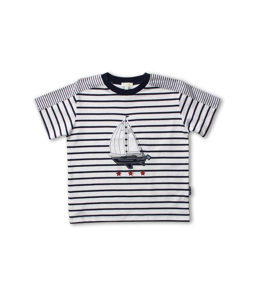 The ultimate summertime tee, this striped shirt ($28) by Le Top comes in sizes for babies through bigger kids.
