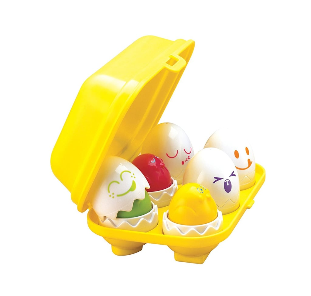 For 2-Year-Olds: Tomy Hide & Squeak Eggs