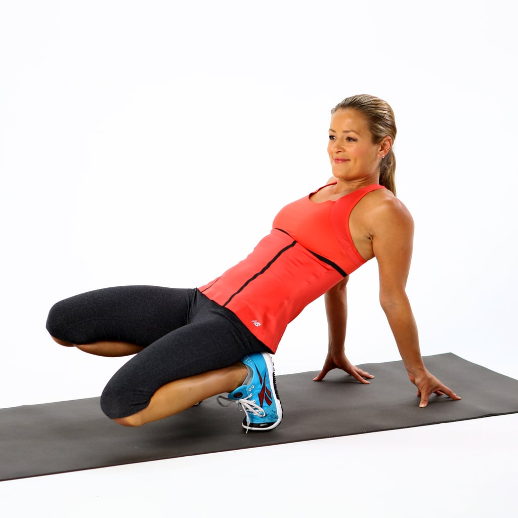 Quad and Toe Stretch