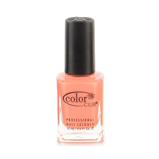 Swipe on Color Club In Theory ($8) for a seasonally perfect sherbet hue on your toes or fingertips.