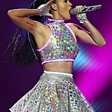 On Friday, Katy Perry took the stage in Perth.