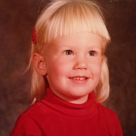 January Jones Childhood Throwback Photos on Instagram
