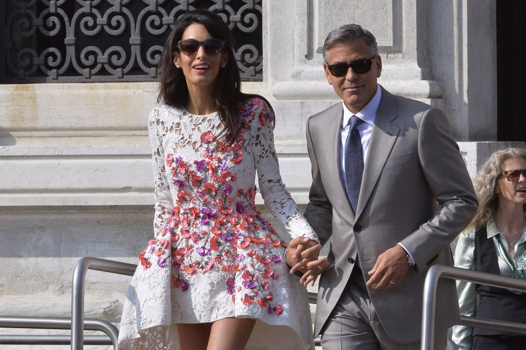 Amal Clooney Vacation Outfits