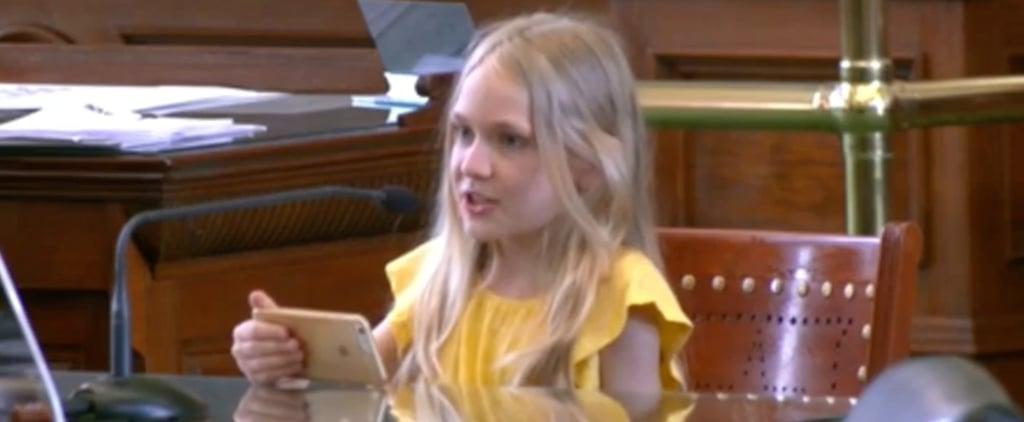 Watch 10-Year-Old Trans Girl Testify Before Texas Senate