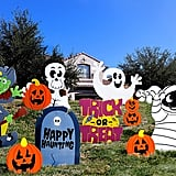 Joyin Friendly Halloween Corrugate Yard Stake Signs