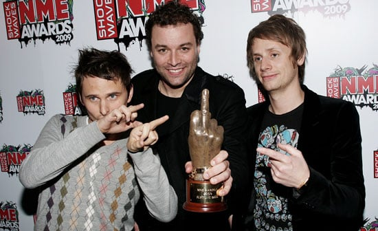 Backstage Photos And Full List Of Winners From 2009 NME Awards, Including Muse, Noel Fielding, Elbow, Pete Doherty, Carl Barat,