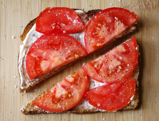 Tomato and Mayo Toast