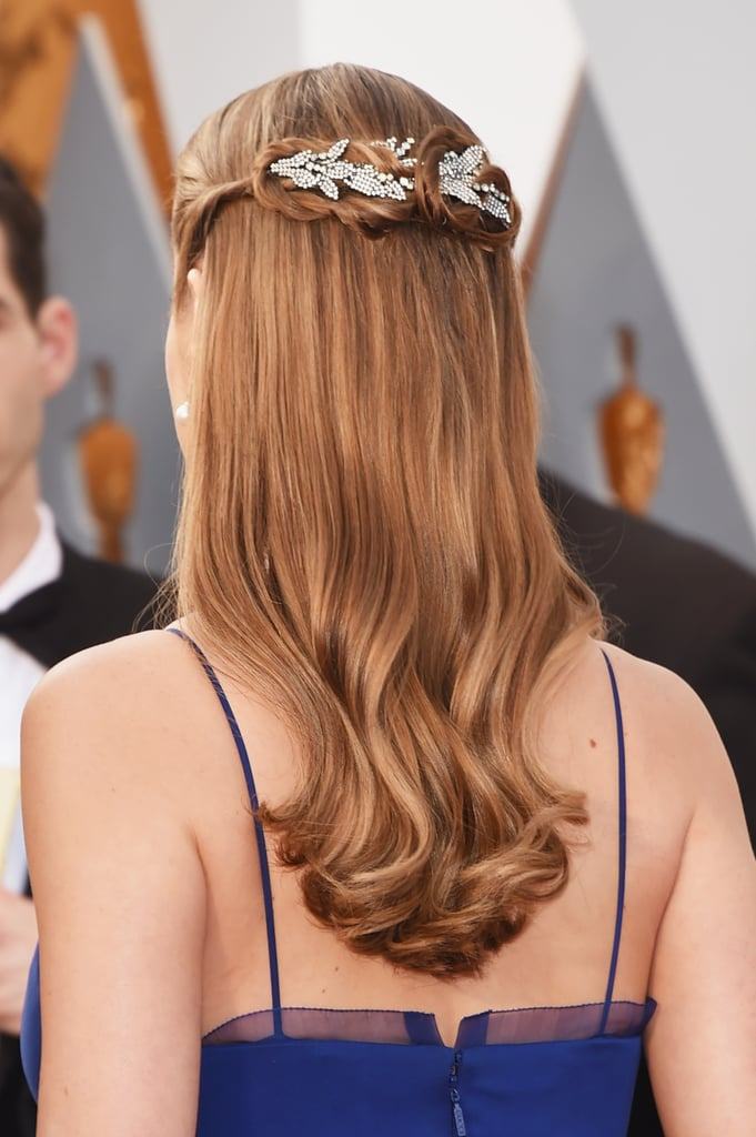 Wait Until You See the Back of Brie Larson's Oscars Hairstyle