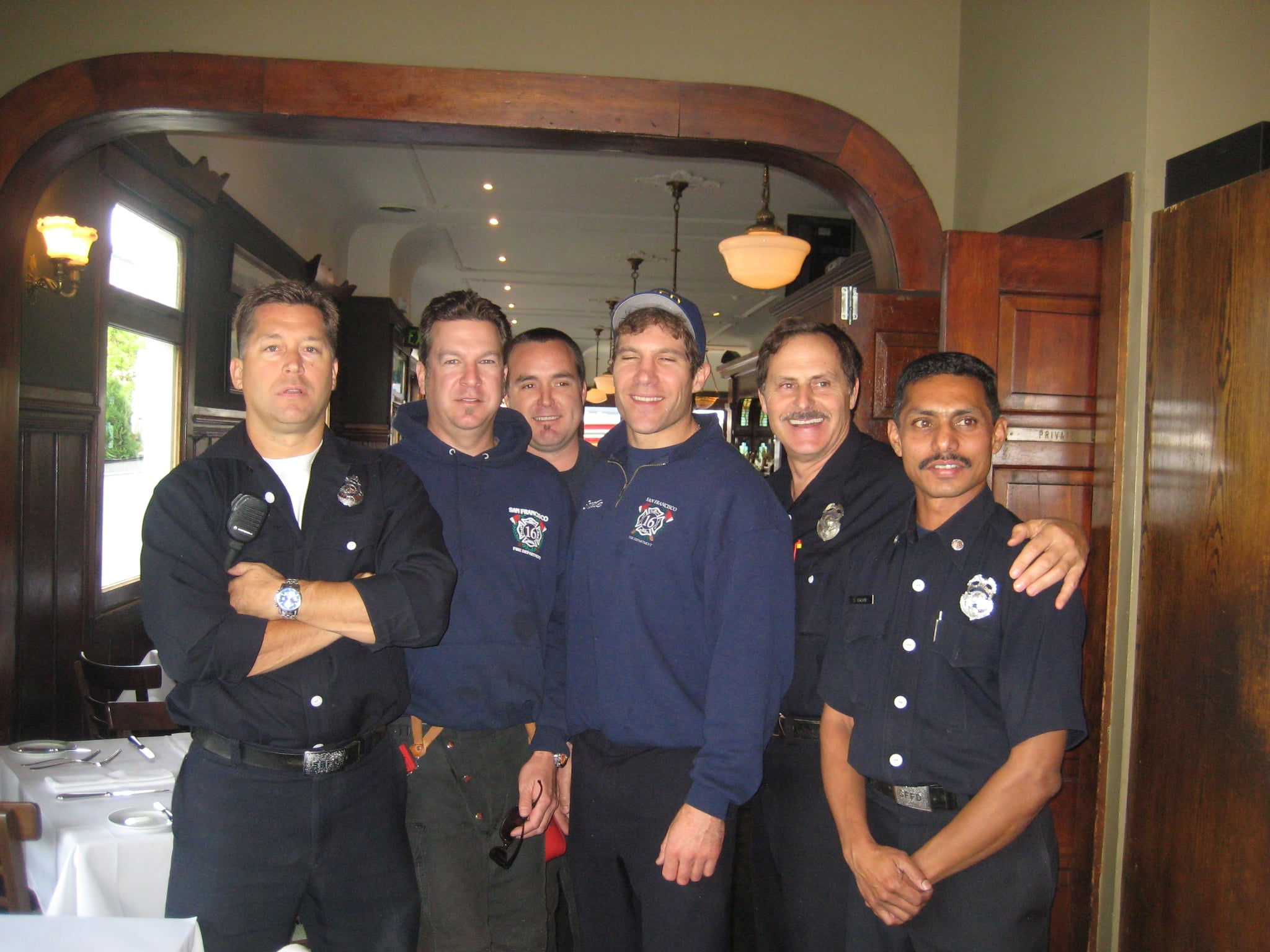 The firefighters of Station 16.