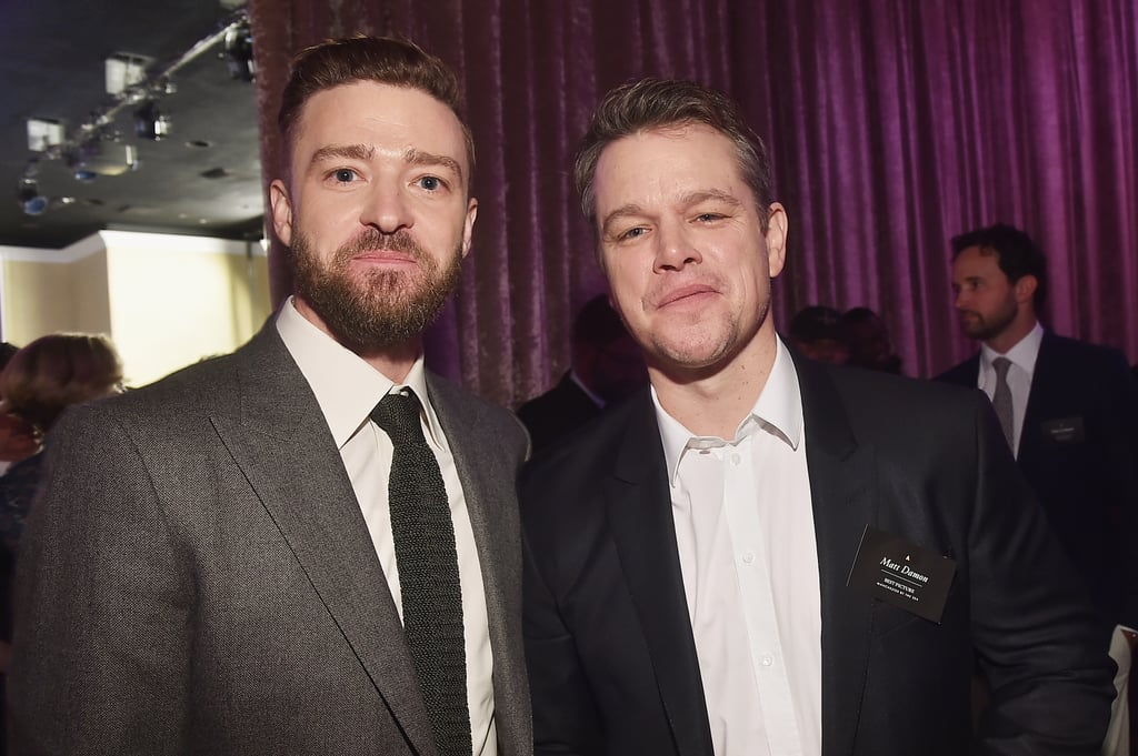 Justin Timberlake and Matt Damon