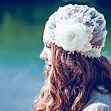 Lace Bridal Juliet Cap