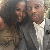 Kelly Rowland and her husband, Tim Witherspoon, got all dressed up for an event.