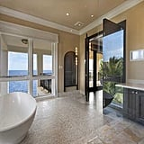 Large tubs are featured in many of the bathrooms.