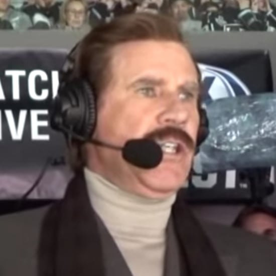 Will Ferrell as Ron Burgundy at Hockey Game Videos 2019
