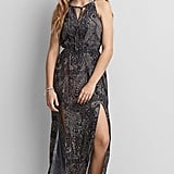 American Eagle Outfitters High-Neck Maxi Dress ($60)