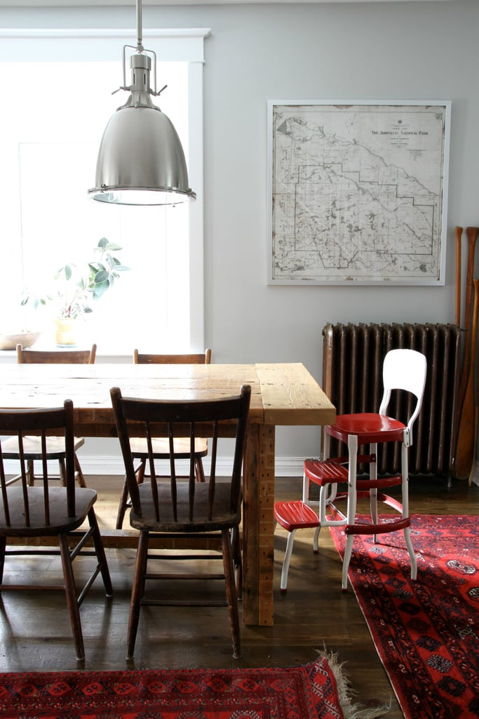 Mix-and-match dining chairs