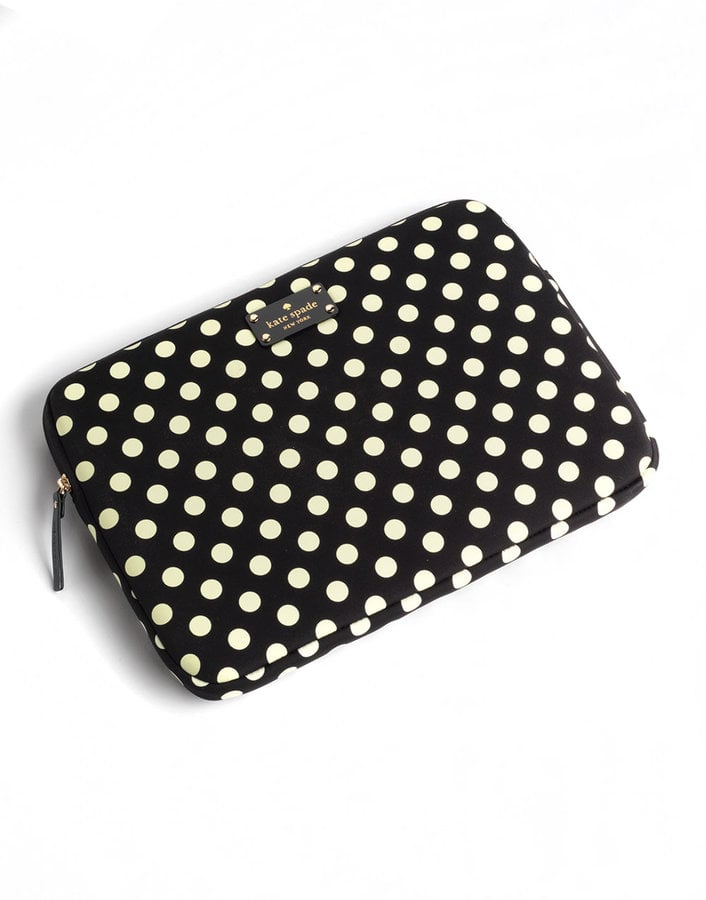 We love this cutesy Kate Spade New York Polka-Dot Laptop Sleeve ($60).